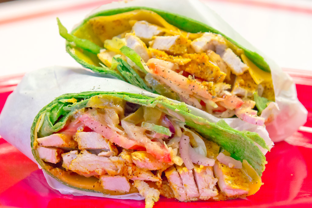 Grilled-Chicken-Wrap